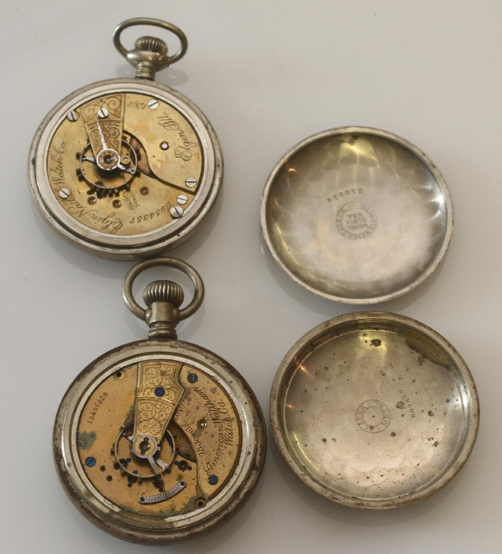 LOT OF (6) POCKET WATCHES - 4