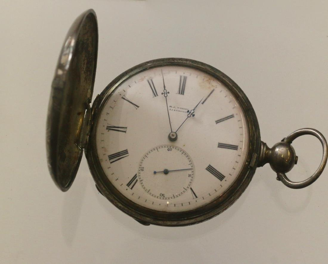 M.J. TORINS POCKET WATCH