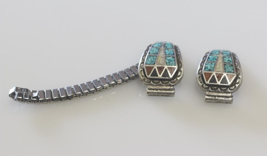 VINTAGE NATIVE AMERICAN WATCH BAND