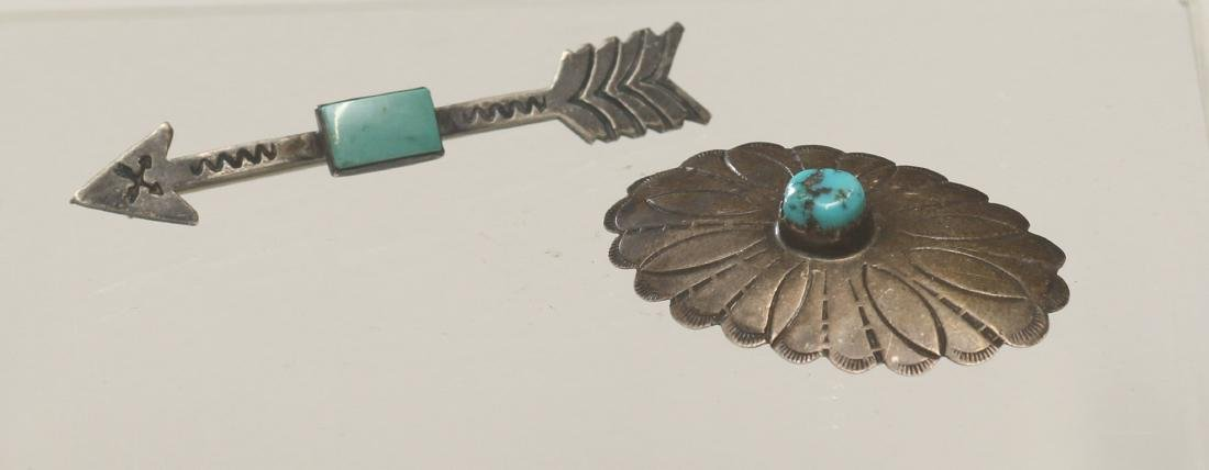 (2) NATIVE AMERICAN BROOCHES