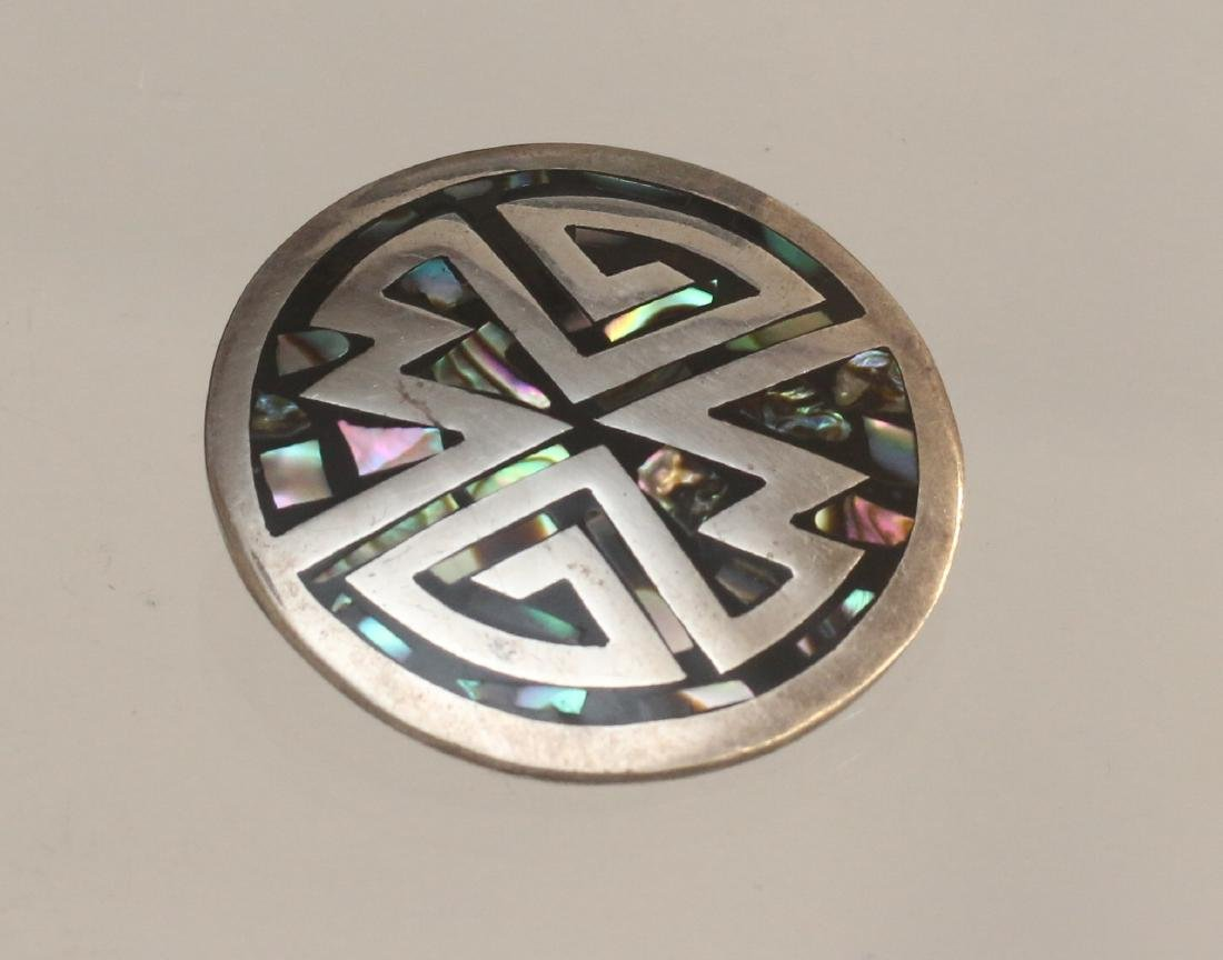 STERLING MEXICO PENDANT
