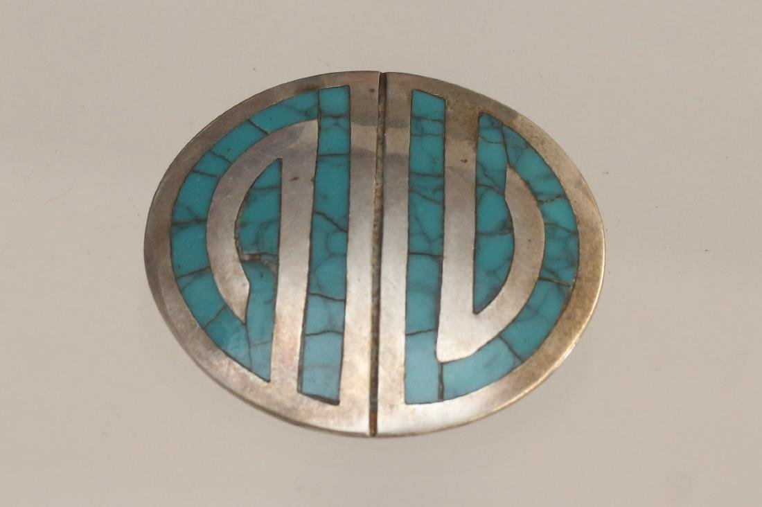 STERLING MEXICAN BROOCH