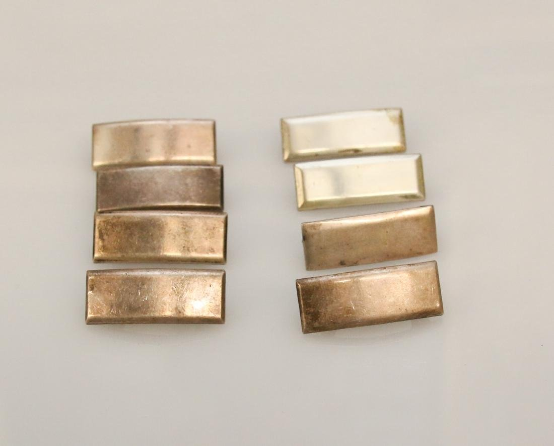 8 - STERLING MILITARY PINS