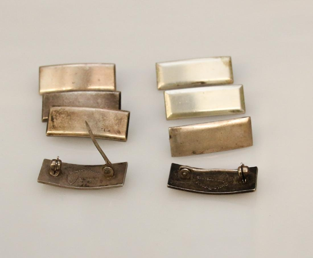 8 - STERLING MILITARY PINS - 2