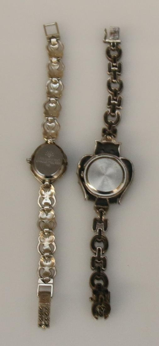 (2) STERLING WRIST WATCHES - 2