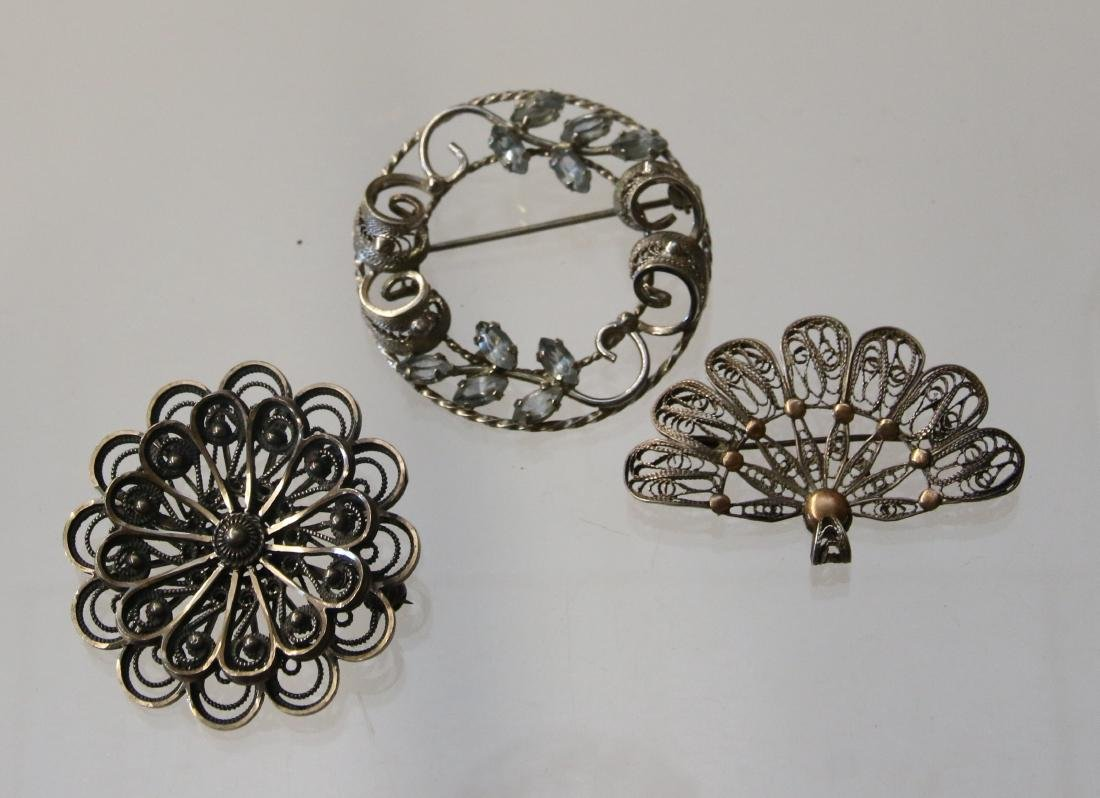 (3) STERLING ITEMS