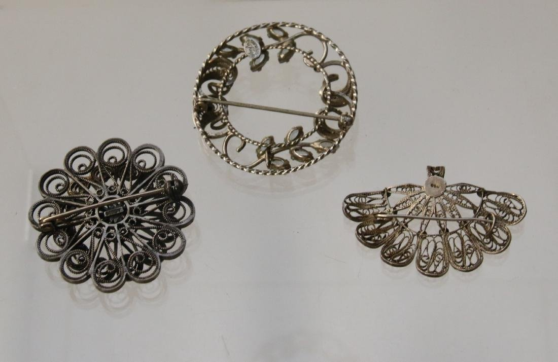 (3) STERLING ITEMS - 2
