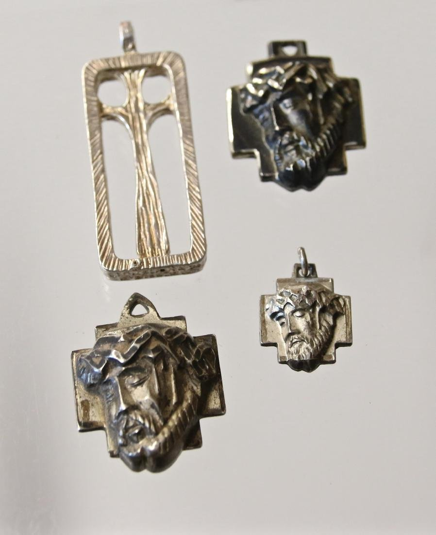 (4) STERLING RELIGIOUS ITEMS