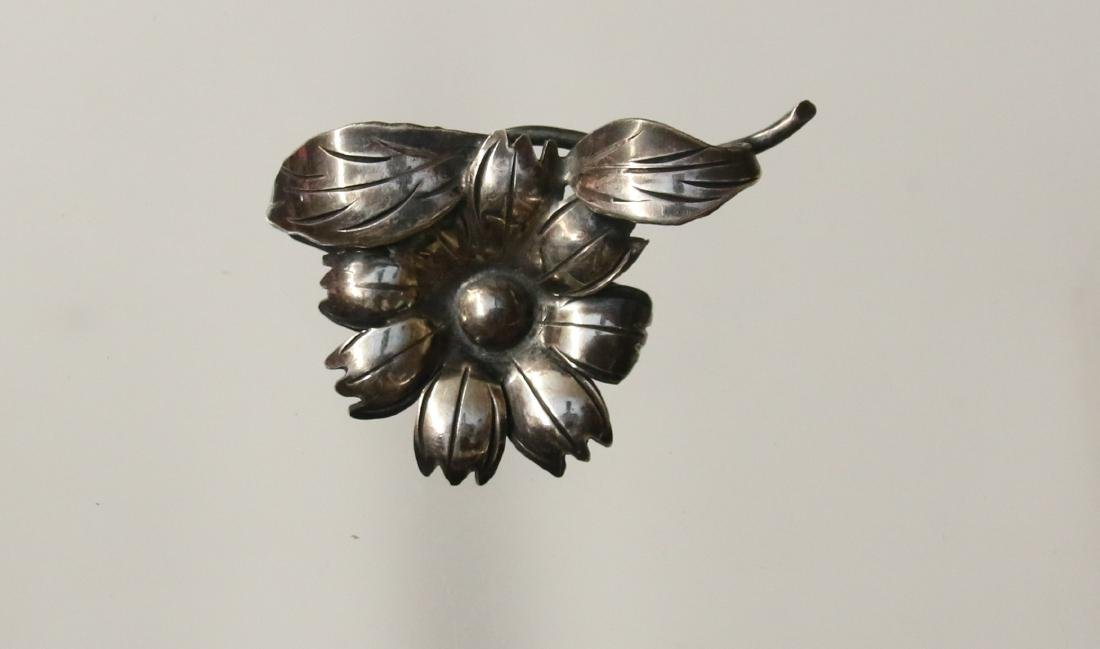 STERLING BROOCH