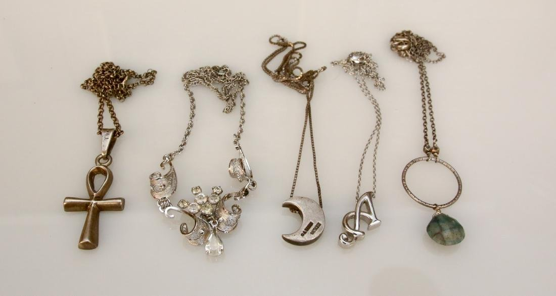 5 - STERLING NECKLACES