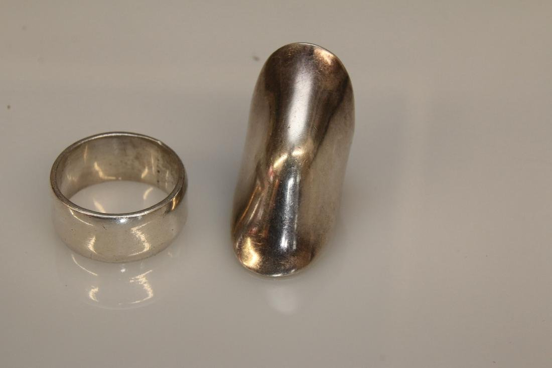 2 - STERLING RINGS