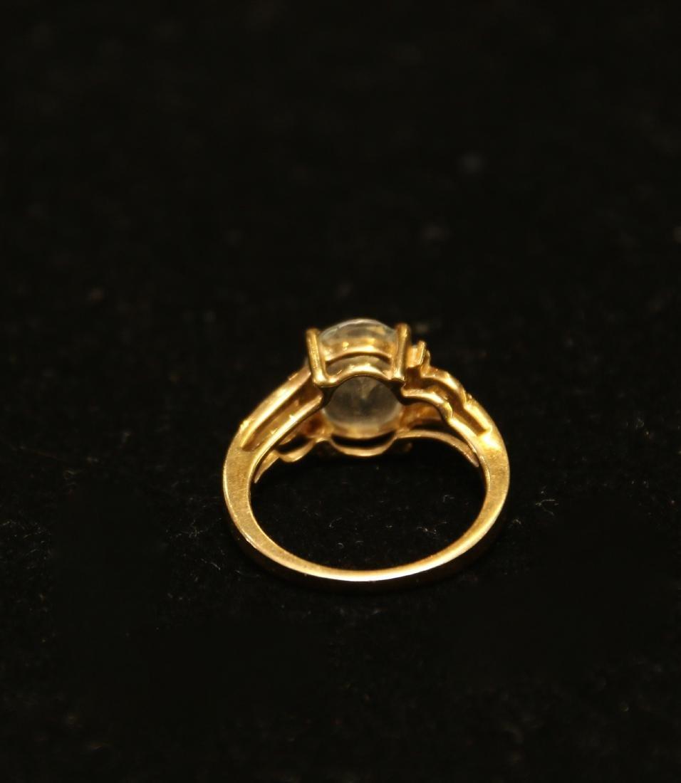 10K GOLD RING - 3