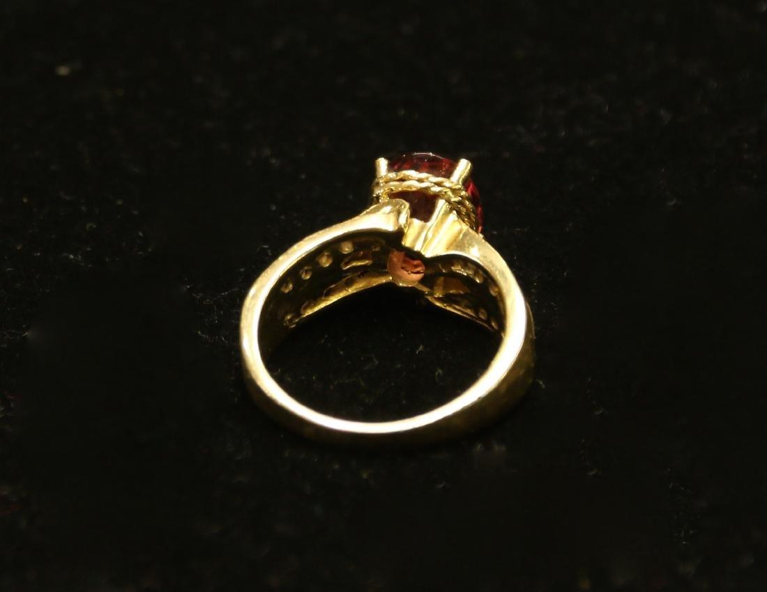14K GOLD RING - 3