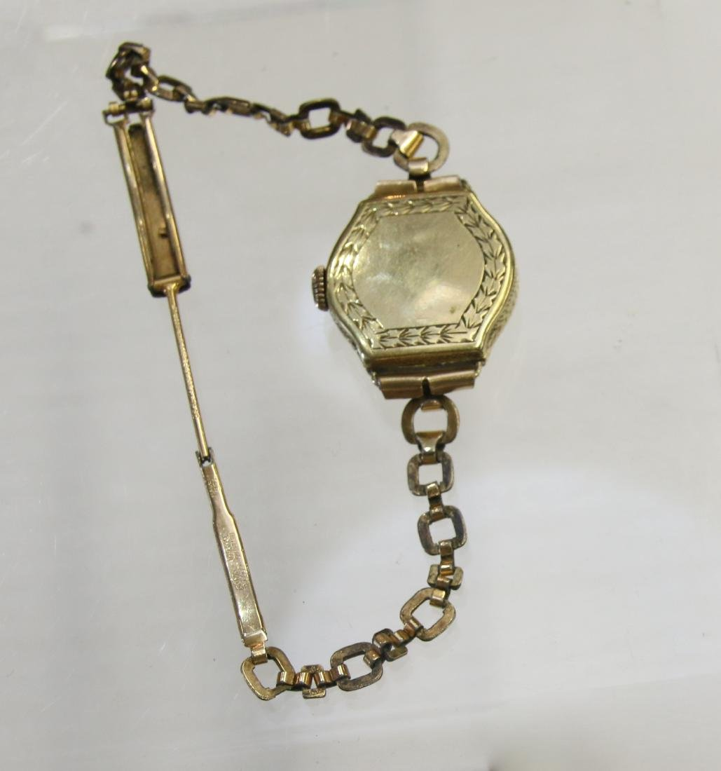 14K GOLD LE COULTRE WRIST WATCH - 2