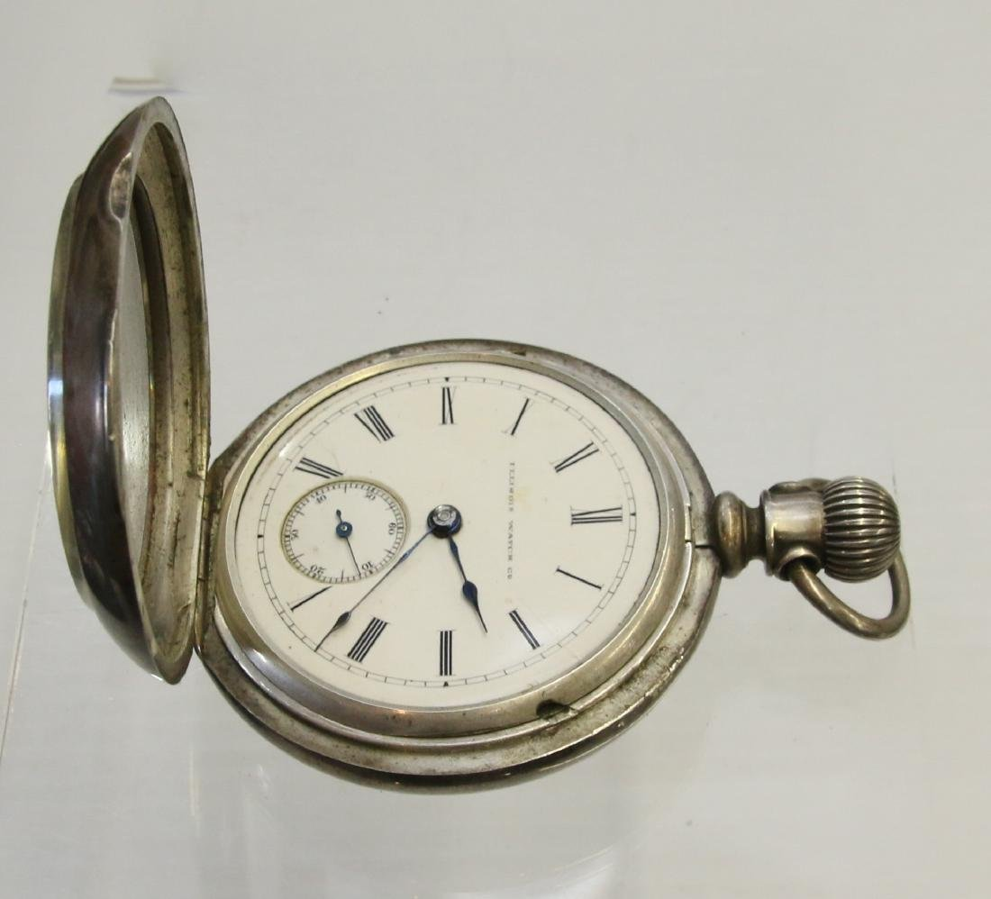 COIN SILVER POCKET WATCH