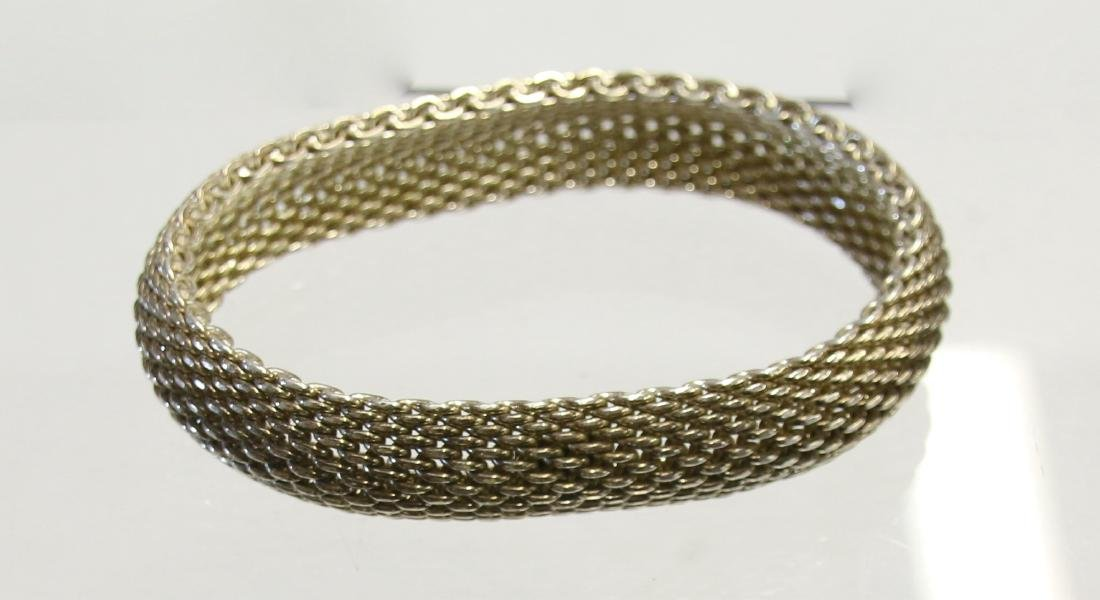 TIFFANY AND CO. STERLING BANGLE