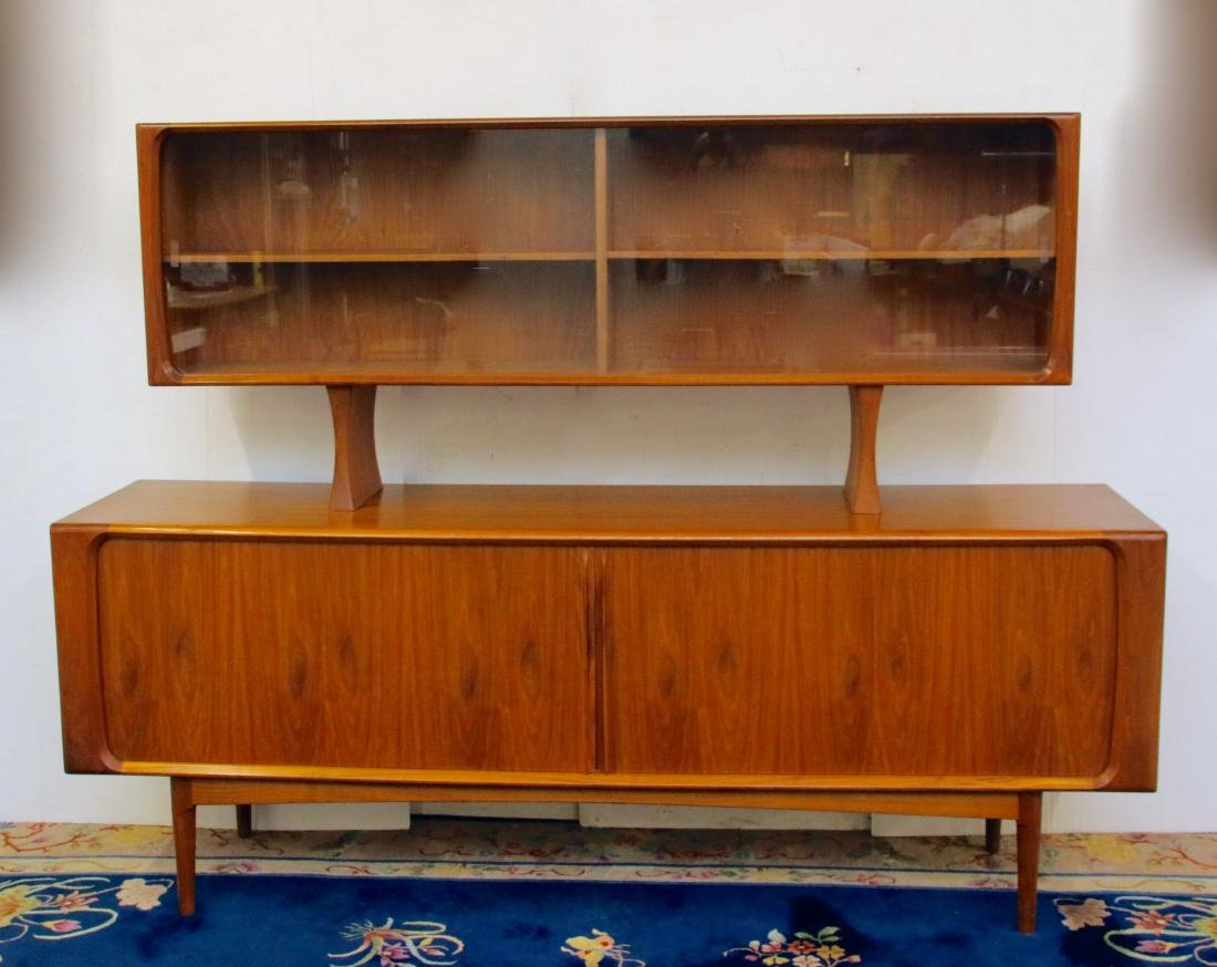 Danish Floating Credenza : Danish credenza with floating cabinet