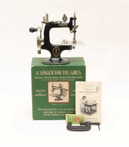 GIRLS SINGER SEWING MACHINE New Girls Sewing Machine