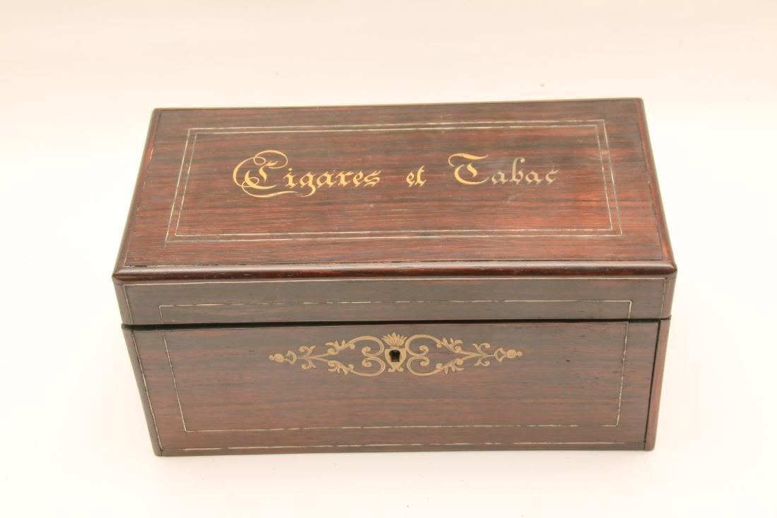 EARLY TOBACCO OR SMOKE BOX