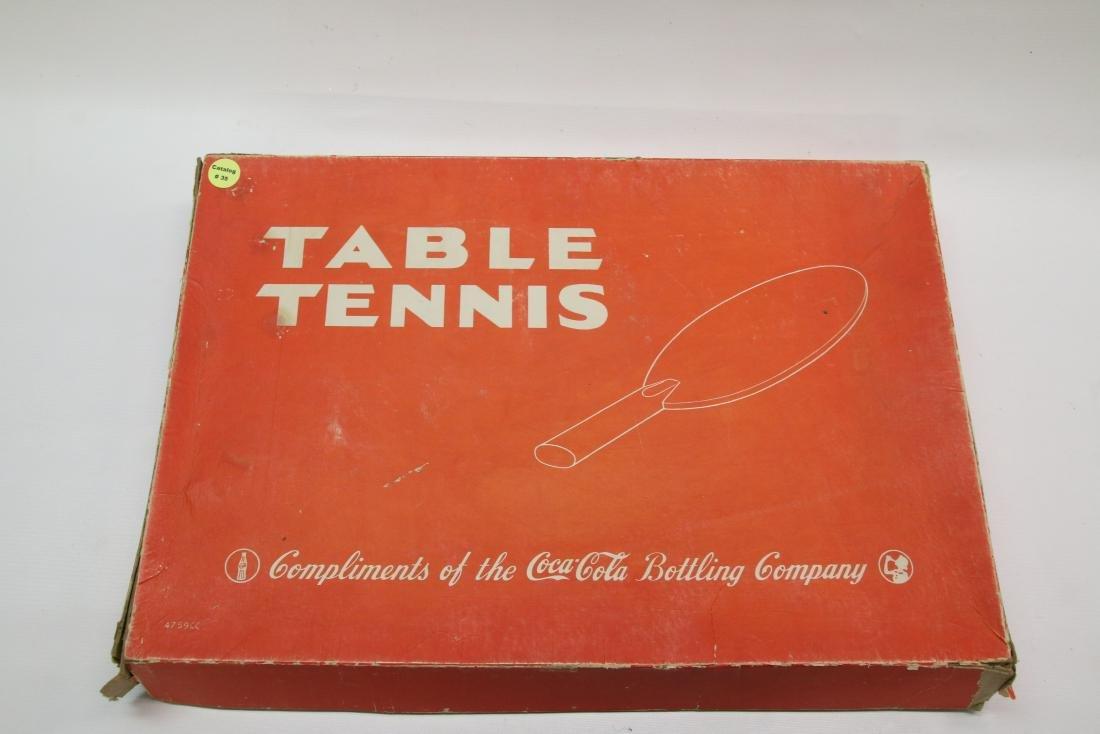 VINTAGE ADV. TABLE TENNIS GAME SET