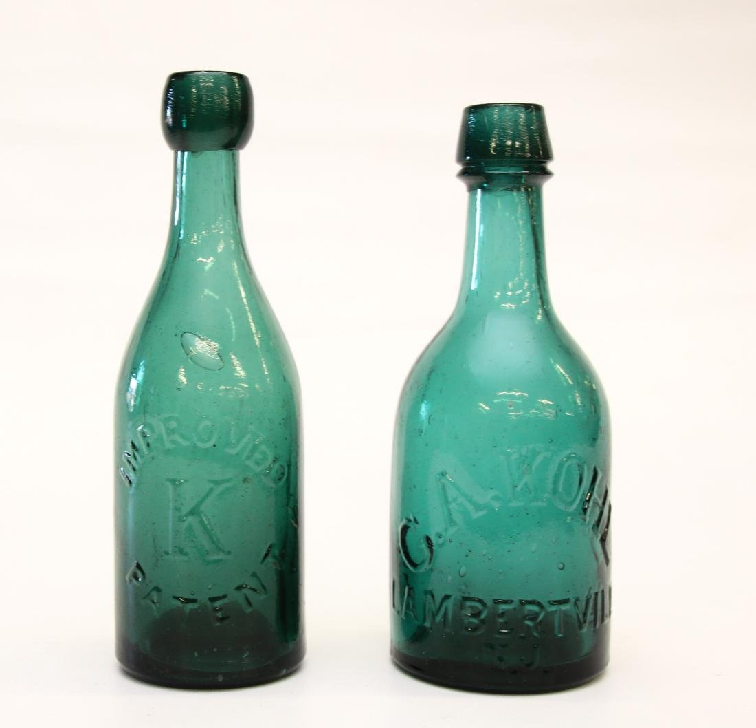 PR. OF C.A. KOHL NEW JERSEY BOTTLES