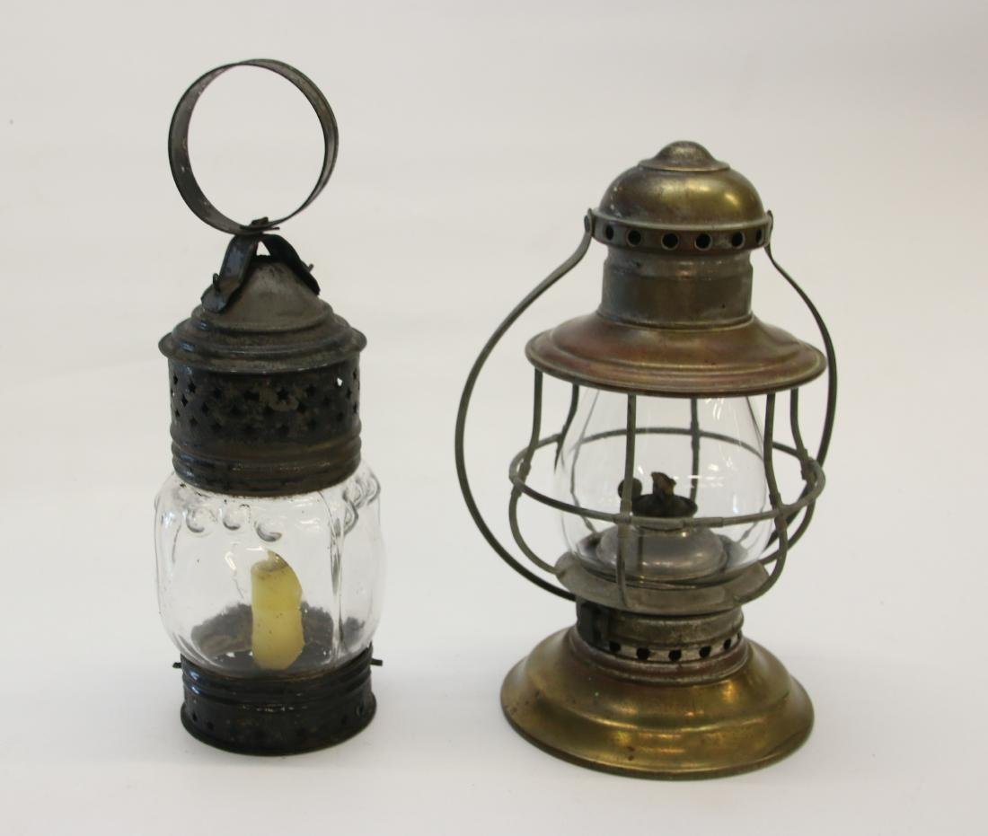 EARLY LANTERN'S - PAIR
