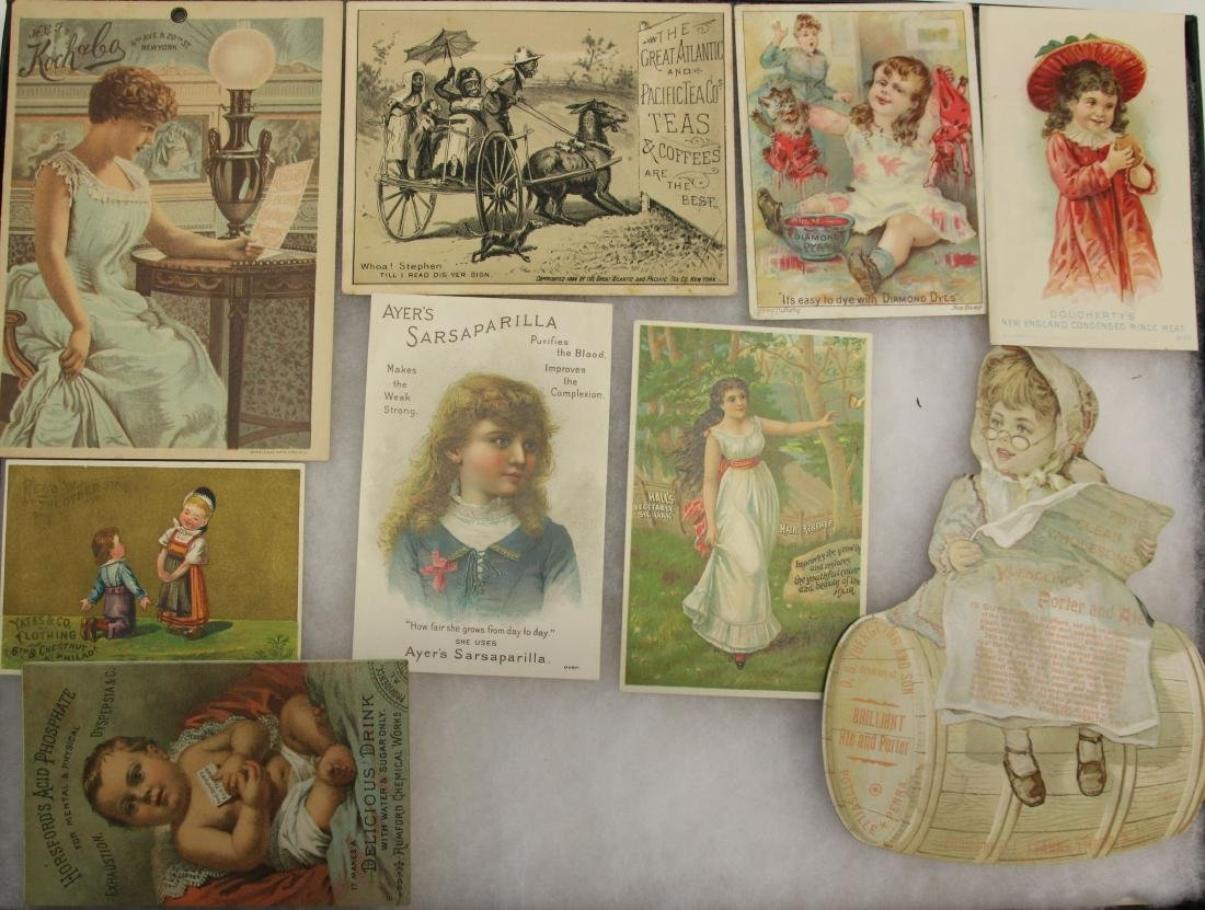 VINTAGE ADVERTISING LOT
