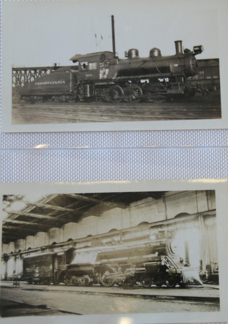 GROUP LOT OF RAILROAD PHOTOGRAPH'S