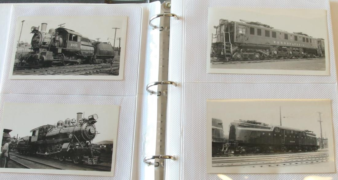 GROUP LOT OF RAILROAD PHOTOGRAPH'S - 2