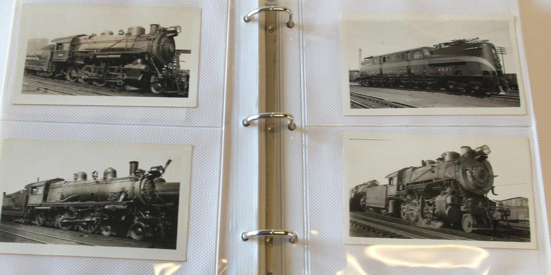 GROUP LOT OF RAILROAD PHOTOGRAPH'S - 6