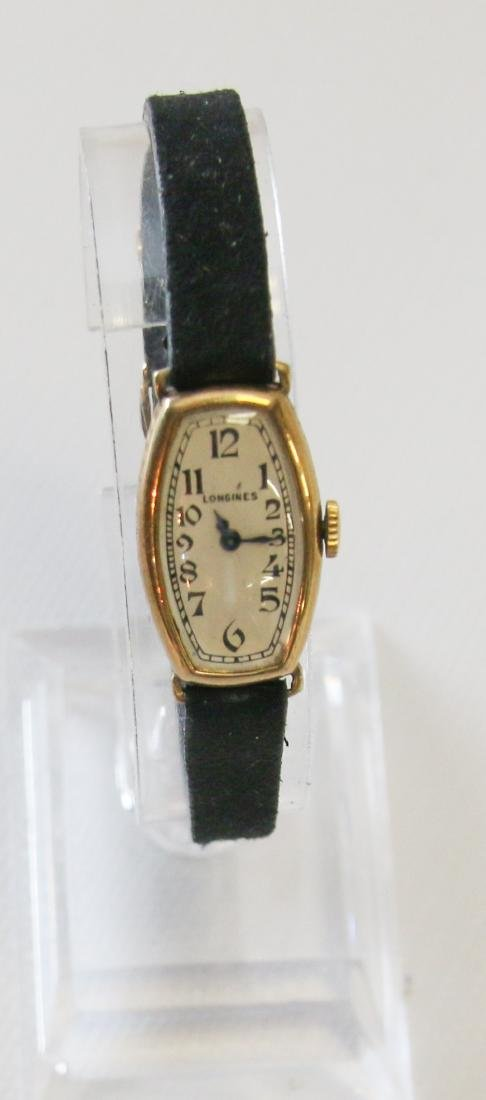 18K GOLD LONGINES WATCH