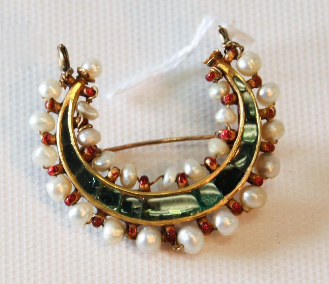 14K GOLD BROOCH