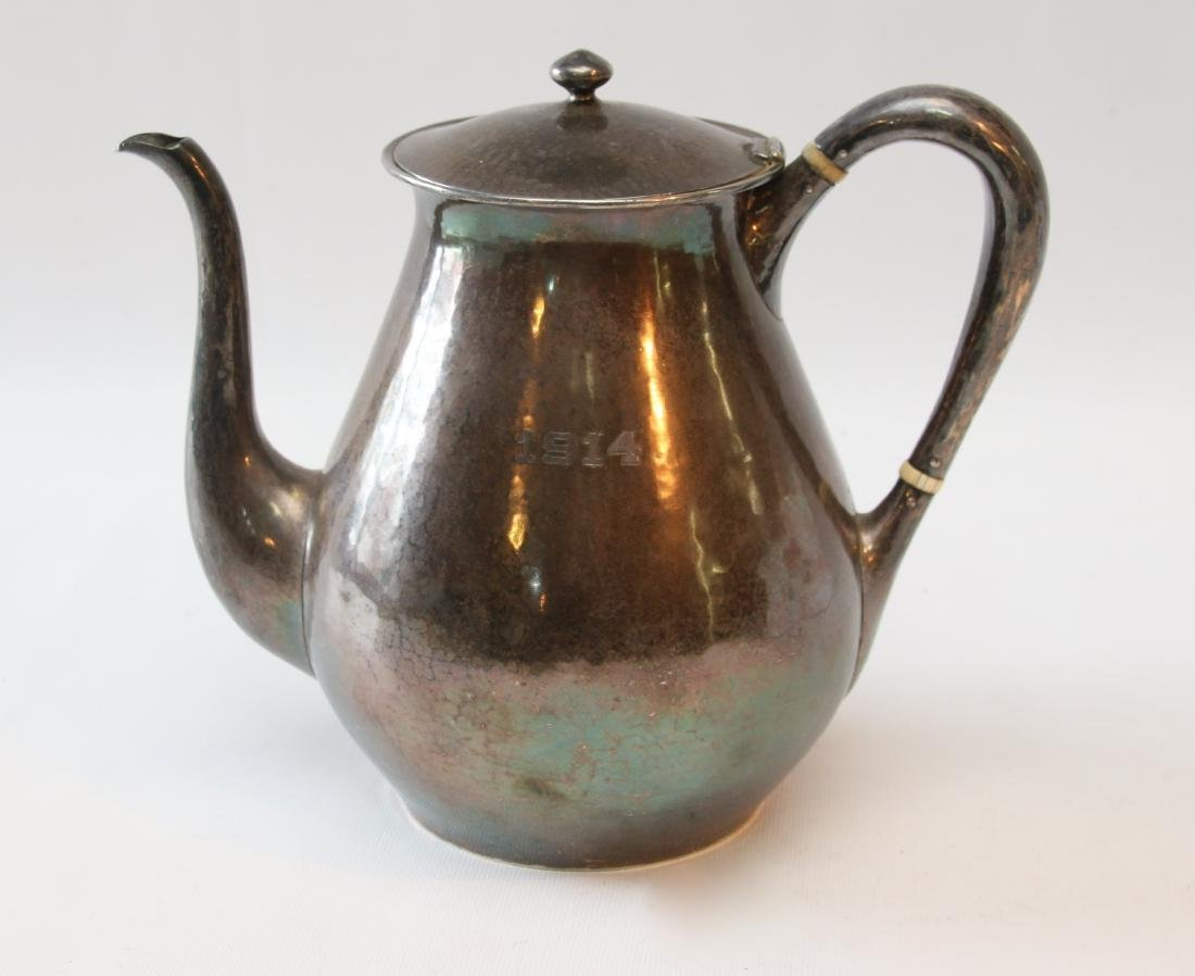 STERLING SILVER ARTS AND CRAFTS POT