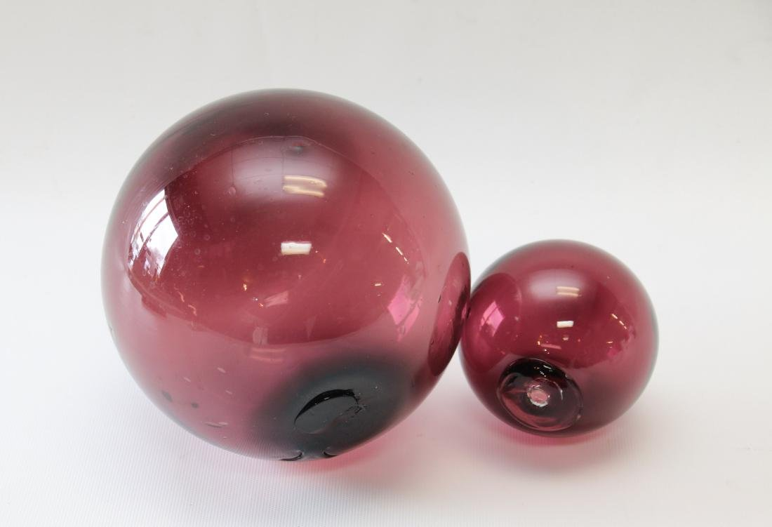 PR. OF GLASS WITCH'S BALLS