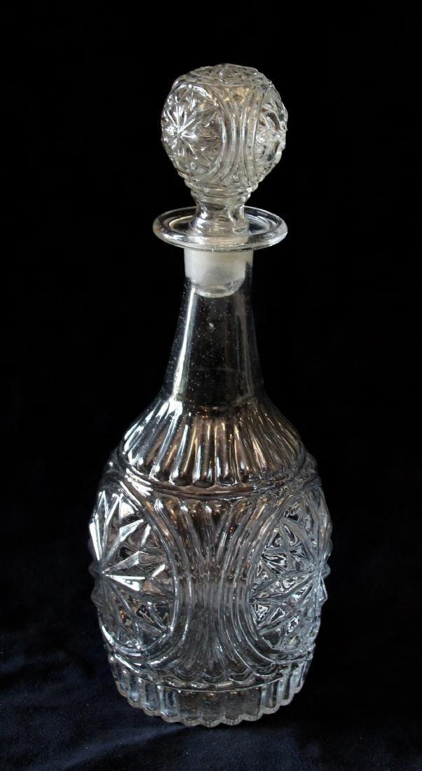 BLOWN GLASS DECANTER - 2