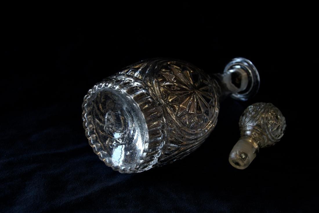 BLOWN GLASS DECANTER - 5