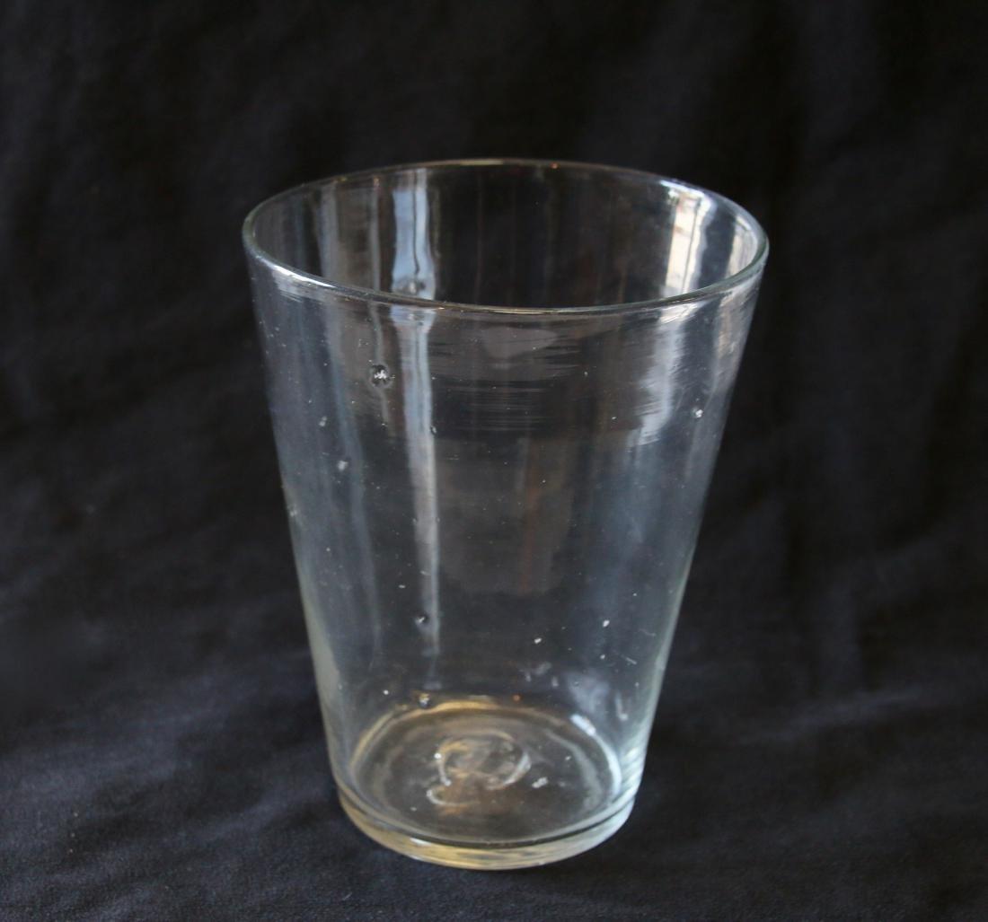 BLOWN GLASS FLIP CUP