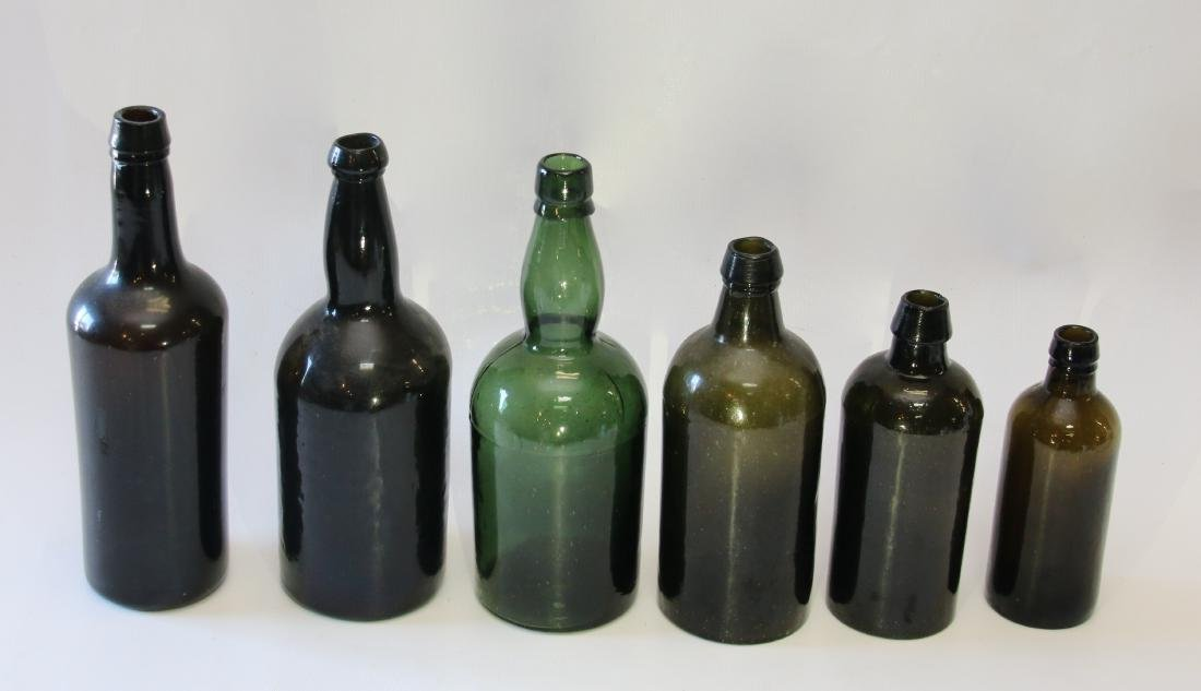 GROUP LOT OF EARLY BOTTLES