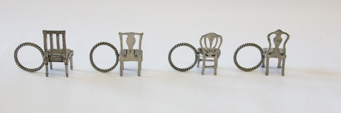 GROUP OF EARLY NAPKIN RINGS - 2