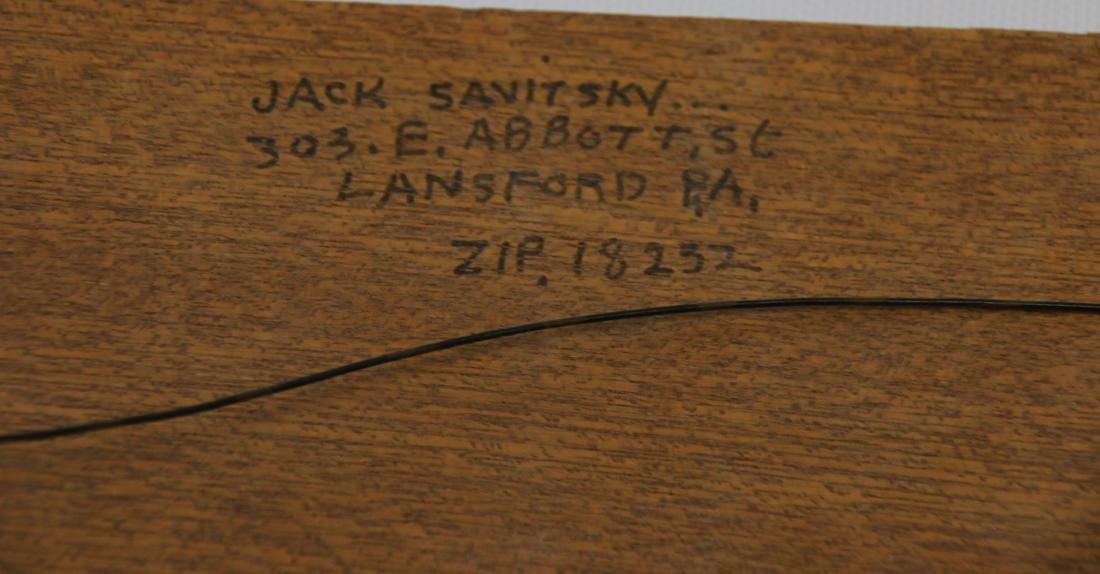 JACK SAVITSKY OIL ON BOARD - 4