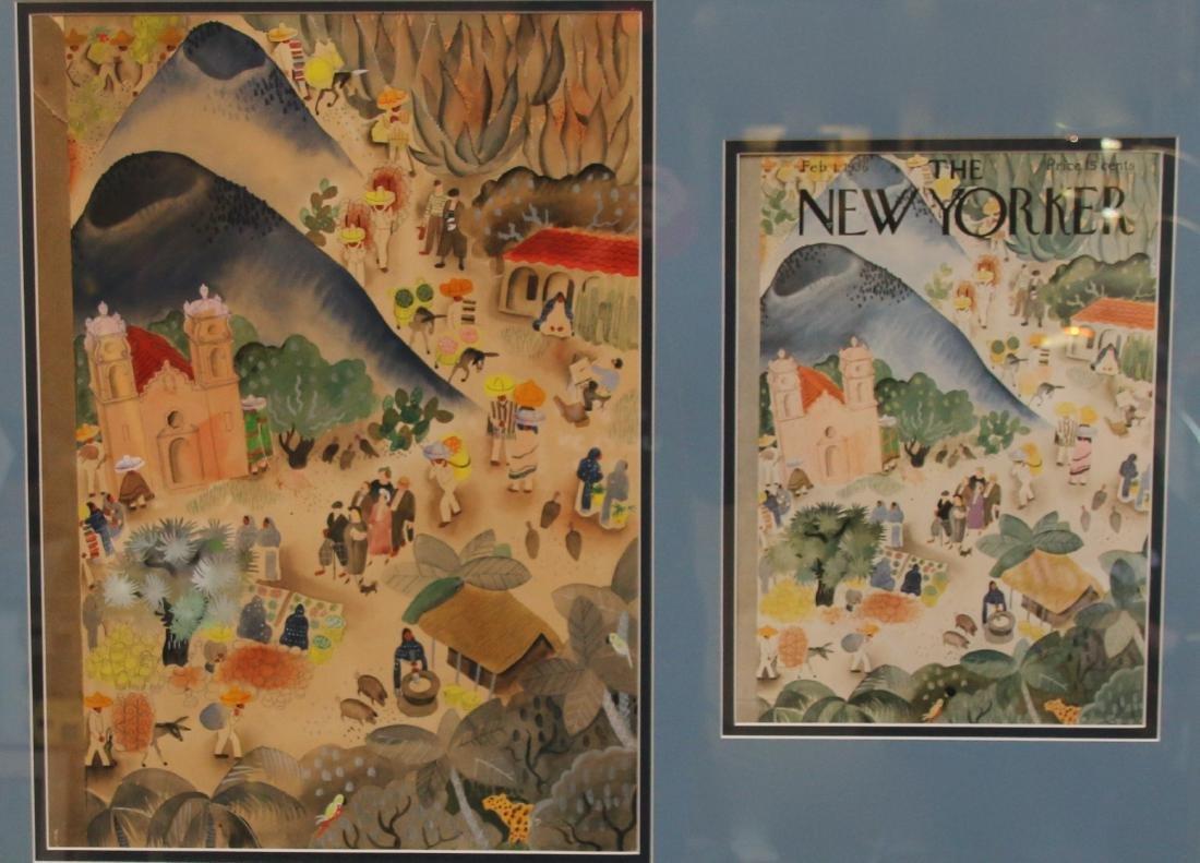 ORIGINAL NEW YORKER COVER ART