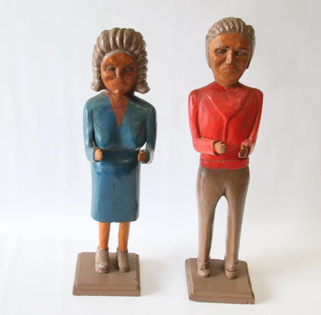 PR. OF FOLK ART FIGURES
