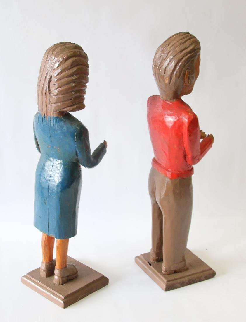 PR. OF FOLK ART FIGURES - 2