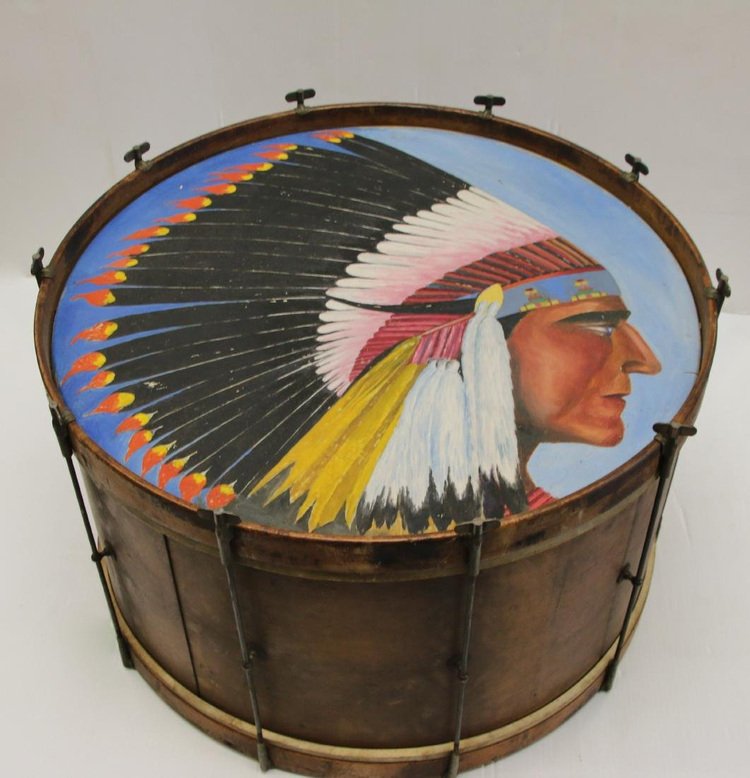 PAINT DECORATED BASS DRUM - 2