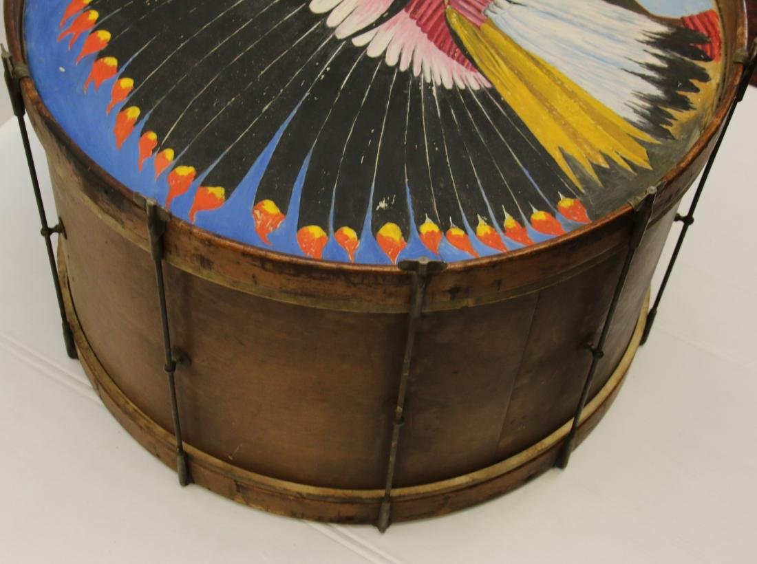PAINT DECORATED BASS DRUM - 3