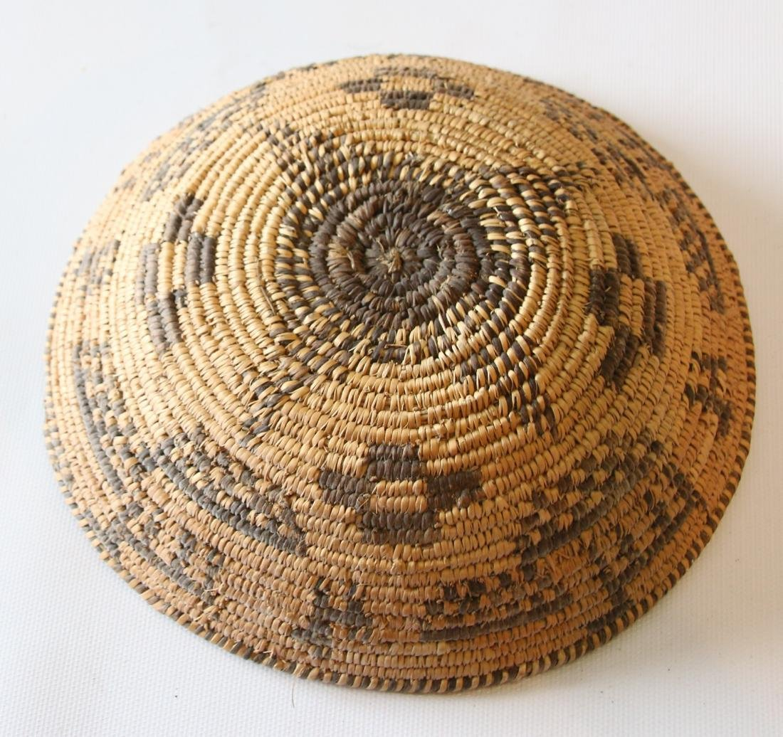 NATIVE AMERICAN SHALLOW BASKET - 2