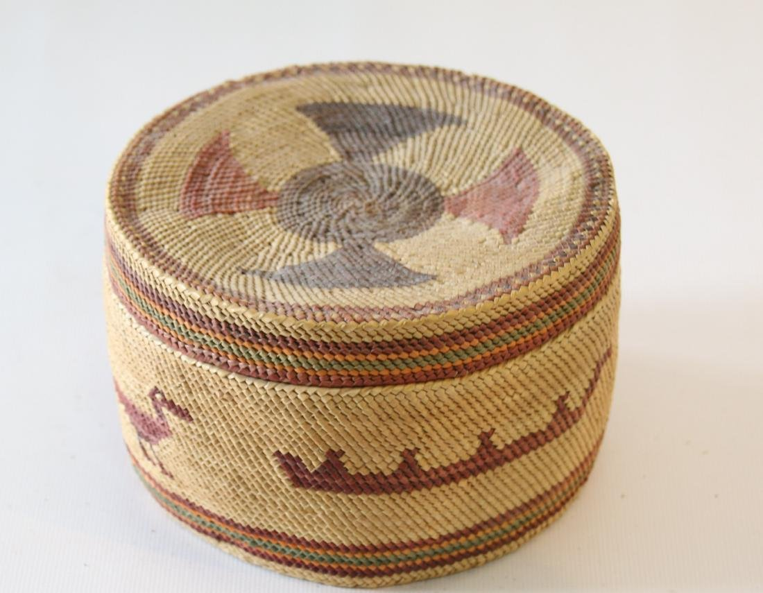 PACIFIC COAST COVERED BASKET