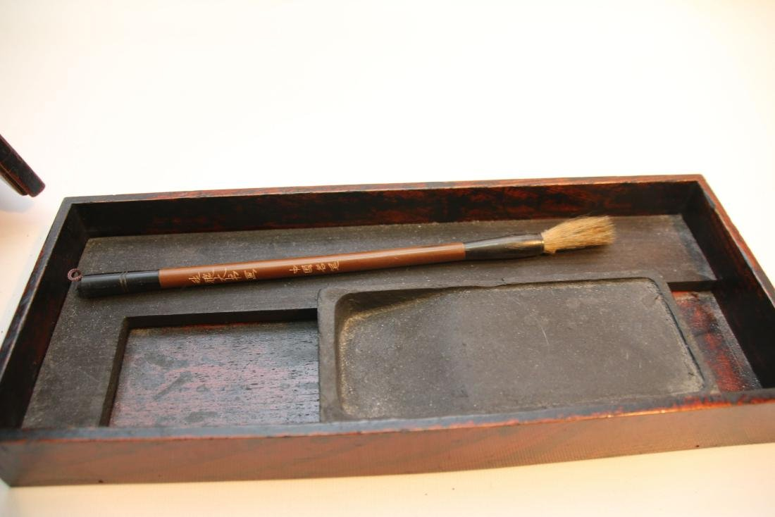 JAPANESE CALLIGRAPHY BOX - 4
