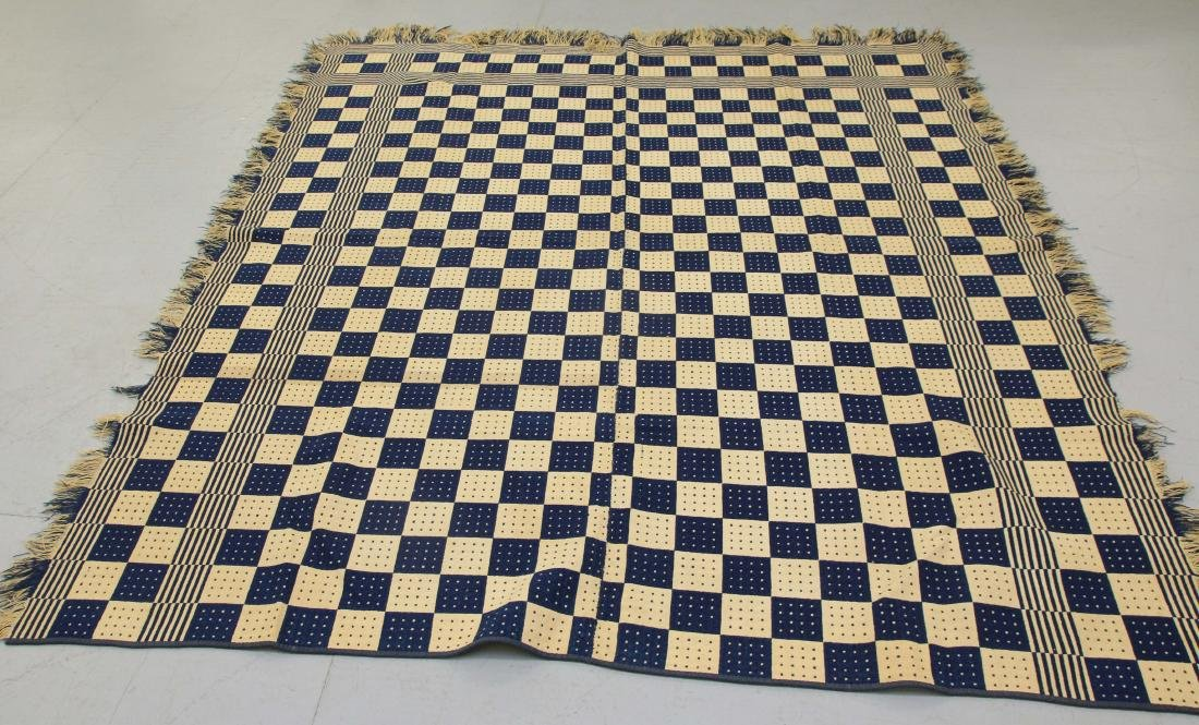 19TH CENTURY COVERLET