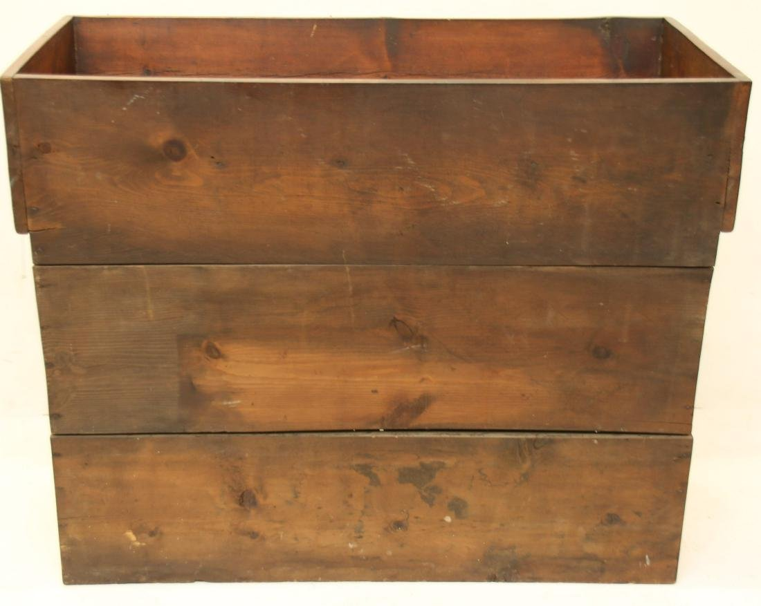ANTIQUE PINE DRYSINK - 6